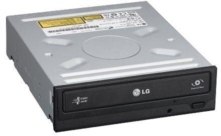 LG Electronics GH20NS schwarz, SATA, bulk (10RBBB)