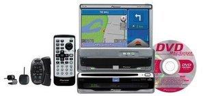 Pioneer AVIC-750DV DVD-navigation package