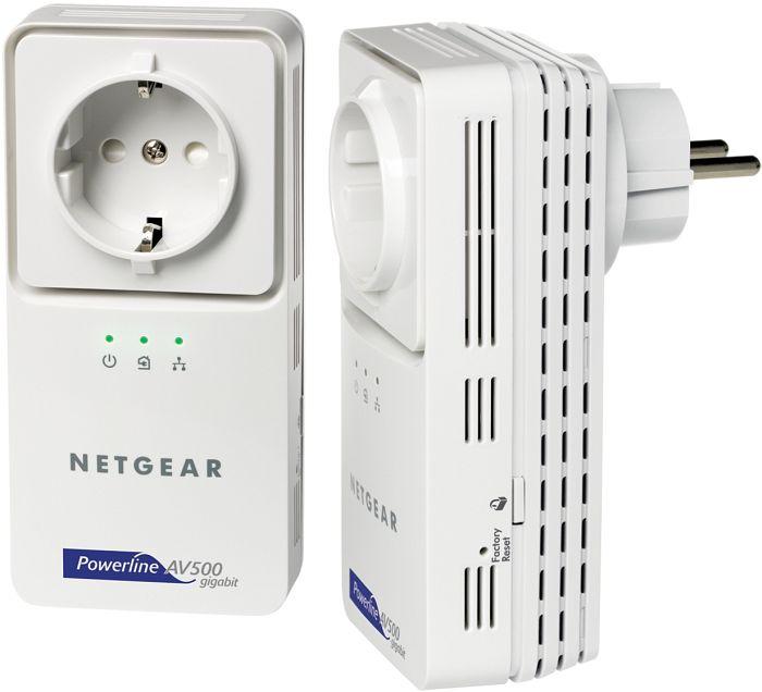 Netgear Powerline AV+ 500 XAVB5501 kit (XAVB5501-100GRS)