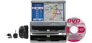 Pioneer AVIC-700D DVD-navigation package
