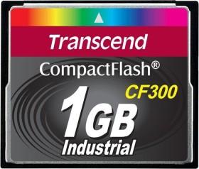 Transcend CF300 300x R57/W38 CompactFlash Card 1GB (TS1GCF300)