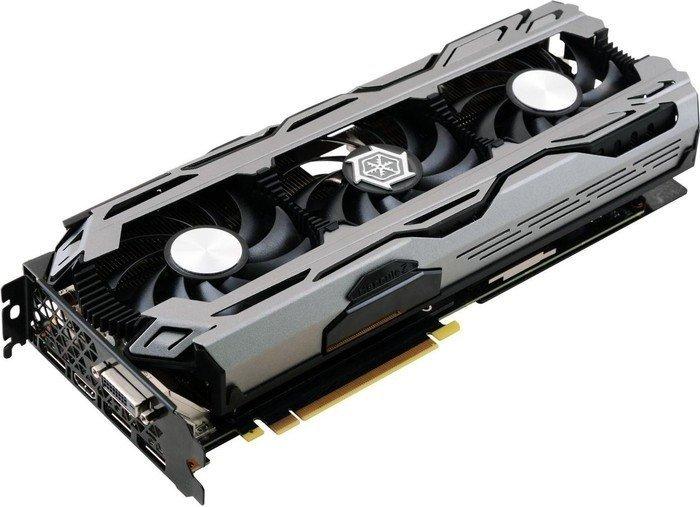 INNO3D GeForce GTX 1060 iCHILL X3, 6GB GDDR5, DVI, HDMI, 3x DP (C1060-1SDN-N5GNX)