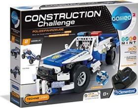 Clementoni Galileo Construction Challenge - Polizeifahrzeuge (59144)