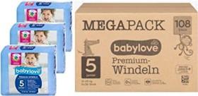 Babylove Premium Gr.5 junior Einwegwindel, 12-25kg, 108 Stück