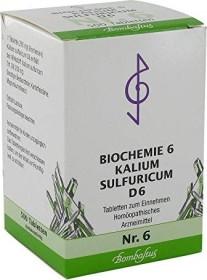 Bombastus Biochemie nach Schüßler Nr. 6 D6 Tabletten, 500 Stück