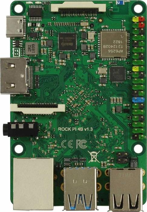 Radxa ROCK Pi 4 Model A, 2GB RAM, Version 1.3