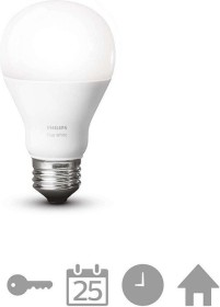 Philips Hue White Single LED-Bulb E27 9.5W/827 (449578-00)