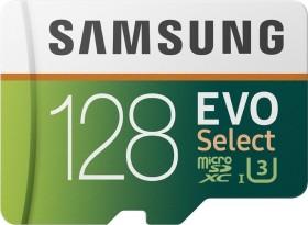 Samsung EVO Select R100/W90 microSDXC 128GB Kit, UHS-I U3, Class 10 (MB-ME128GA)