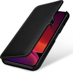 Stilgut Book Type Leather Case Clip für Apple iPhone 11 schwarz (B07XRGL2XY)