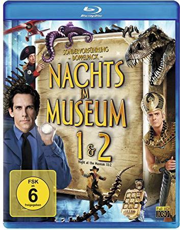Nachts im Museum/Nachts im Museum 2 (Blu-ray) -- via Amazon Partnerprogramm