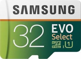Samsung R95/W20 microSDHC EVO Select 32GB Kit, UHS-I U1, Class 10 (MB-ME32GA)