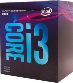 Intel Core i3-8100F, 4x 3.60GHz, boxed (BX80684I38100F)