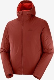 Salomon Outrack Insulated Hoodie Jacke madder brown (Herren) (C13954)