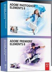 Adobe: Photoshop Elements 8.0 and Premiere Elements 8.0 (English) (PC) (65045558)