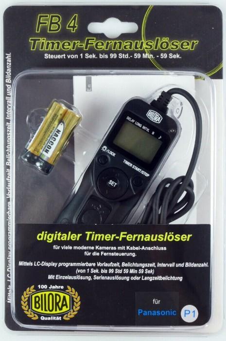 Bilora FB4-P1 Digitaler Timer-Fernauslöser für Panasonic -- via Amazon Partnerprogramm