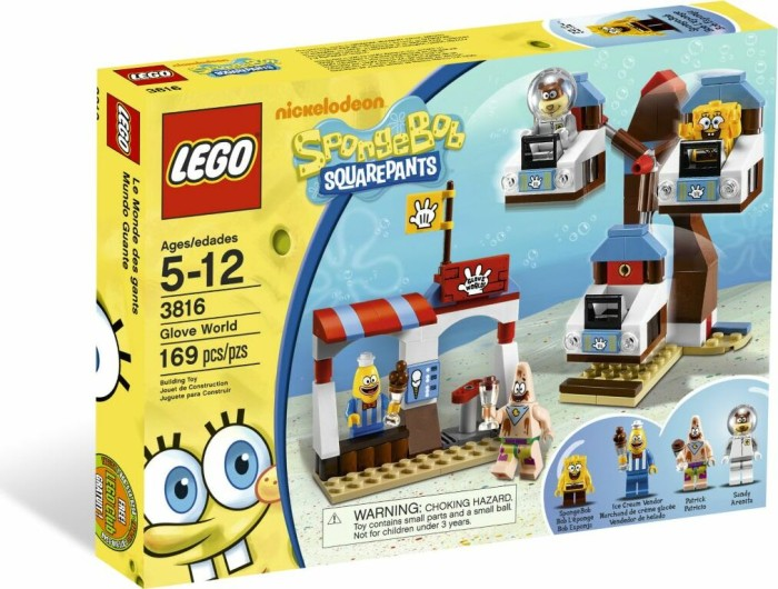LEGO SpongeBob - Handschuhwelt (3816) -- via Amazon Partnerprogramm