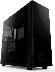 anidées AI-Crystal XL Lite 3 schwarz, Glasfenster (AI-CL-XL-LITE3)