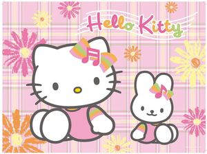 Ravensburger puzzle Hello Kitty and My melody (10893)