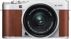 Fujifilm X-A5 braun mit Objektiv XC 15-45mm 3.5-5.6 OIS PZ
