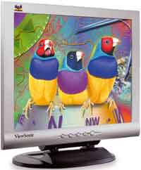 "ViewSonic VE155s silber, 15"", 1024x768, VGA"