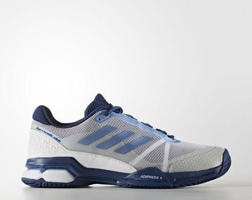 556b193a6132d5 adidas Barricade Club footwear white tech blue metallic mystery blue ...