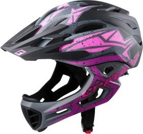 Cratoni C-Maniac Pro Fullface-Helm pink glossy (112609E1/112609E2/112609E3)