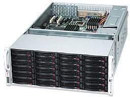 Supermicro SuperChassis 847E1-R1400LPB black, 4U, 1400W redundant