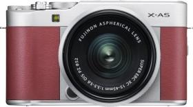 Fujifilm X-A5 pink mit Objektiv XC 15-45mm 3.5-5.6 OIS PZ