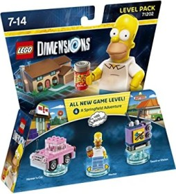 LEGO: Dimensions - Level Pack: The Simpsons (PS3/PS4/Xbox One/Xbox 360/WiiU)