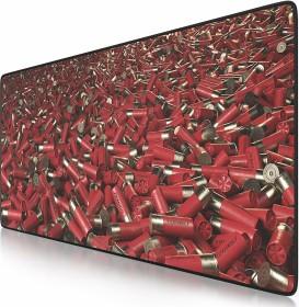 Titanwolf Shotgun Shells XXL Speed Gaming-mousepad, black/red (7230347572/GE81949-680-2338)