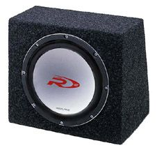 Alpine SBR-1241SBR Subwoofer enclosure