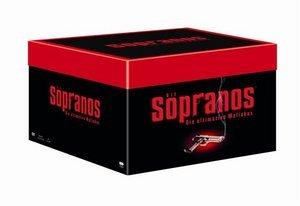 Die Sopranos Box (Staffel 1-6)