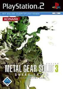 Metal Gear Solid 3 - Snake Eater (niemiecki) (PS2)