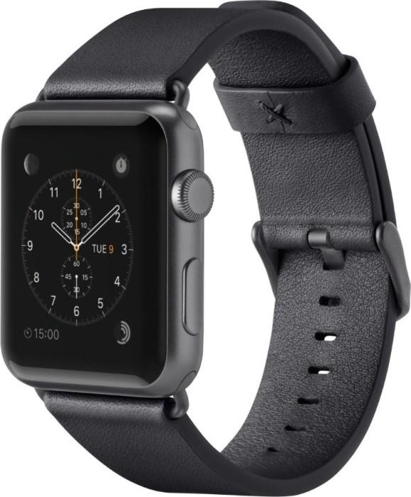 Belkin classic leather bracelet for Apple Watch 38mm/40mm black (F8W731btC00)