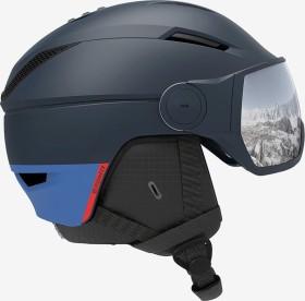 Salomon Pioneer Visor Helm blau (Herren) (408357)