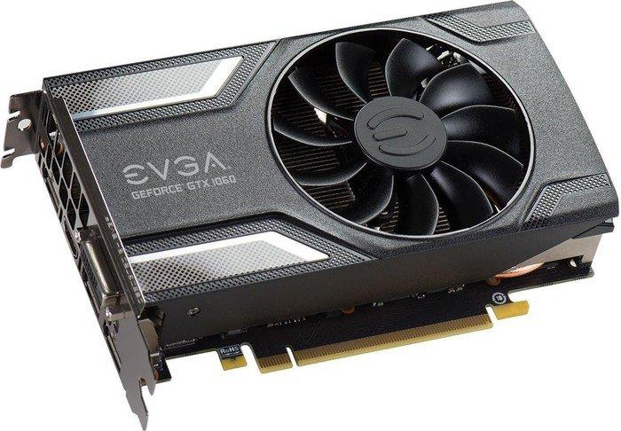 EVGA GeForce GTX 1060 SC Gaming, 6GB GDDR5, DVI, HDMI, 3x DP (06G-P4-6163-KR)