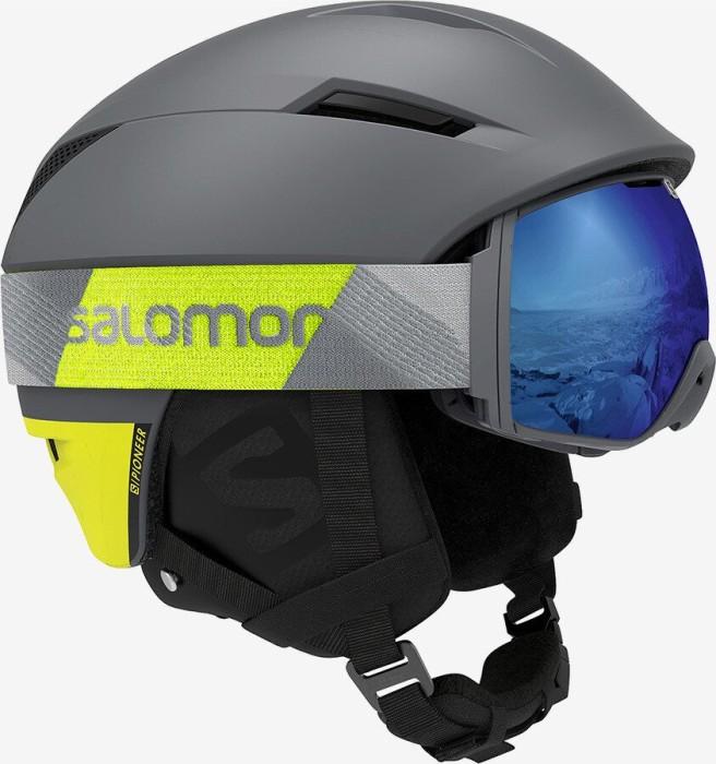 Salomon Pioneer C.Air Helm shade greyneon yellow (Herren) (408390) ab € 99,00
