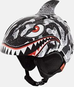 Giro Launch Plus Helmet black/grey tiger shark (Junior)