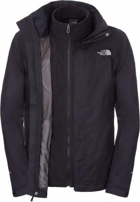 The North Face Evolution II Triclimate Jacket tnf black (men) (CG53-JK3)