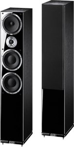 Heco Metas XT 701 tower speaker pcs. black