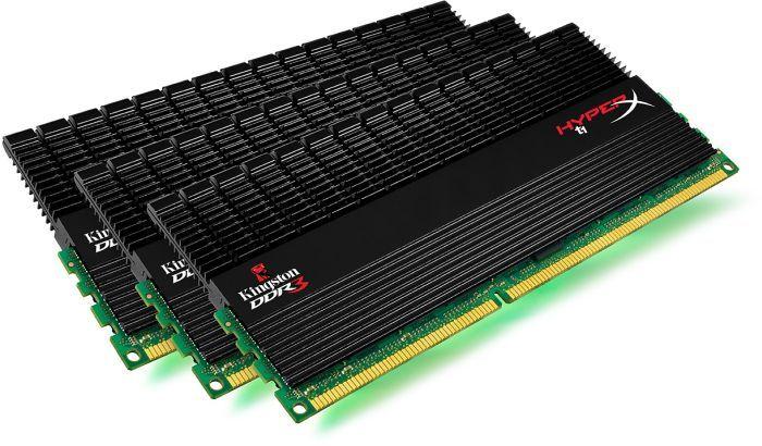Kingston HyperX T1 Black DIMM XMP kit 12GB, DDR3-1600, CL9-9-9-27 (KHX1600C9D3T1BK3/12GX)