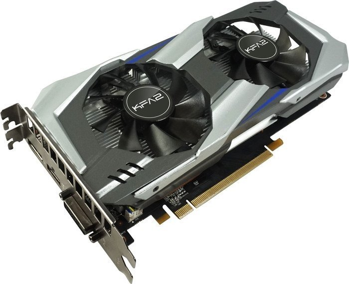 KFA² GeForce GTX 1060 OC, 6GB GDDR5, DVI, HDMI, DisplayPort (60NRH7DSL9OK/60NRH7DSL90K/60NRH7DSL9OKB)