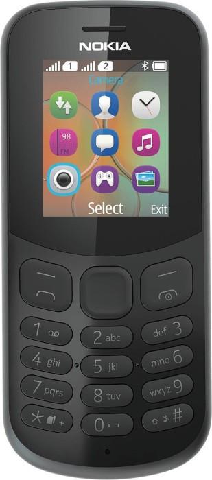 Nokia 130 (2017) Dual-SIM schwarz