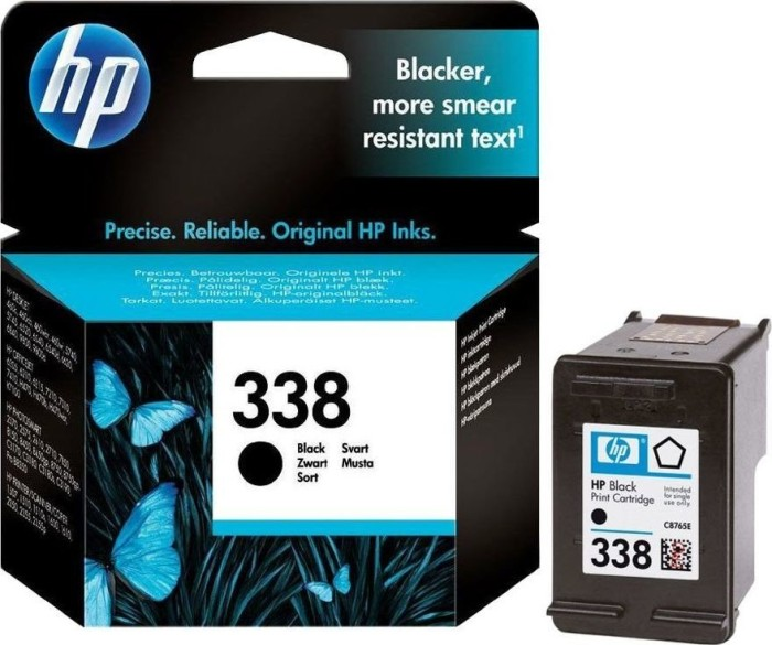 HP Druckkopf mit Tinte 338 schwarz (C8765EE)