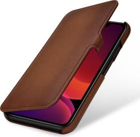 Stilgut Book Type Leather Case Clip Nappa für Apple iPhone 11 braun (B07XRND13G)