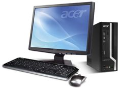 Acer Veriton X275 SFF, Core 2 Duo E7600, 4GB RAM, 1000GB, Windows 7 Professional (PS.VAME3.270)