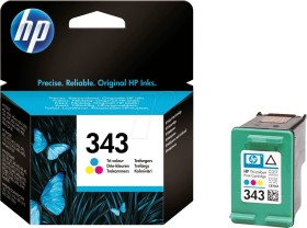 HP Printhead with ink 343 tricolour (C8766EE)