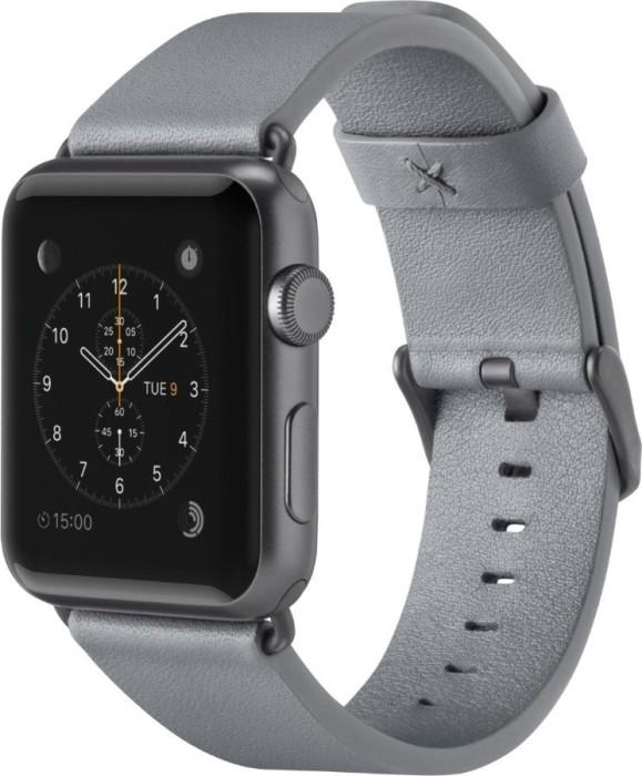 Belkin classic leather bracelet for Apple Watch 38mm/40mm grey (F8W731btC02)