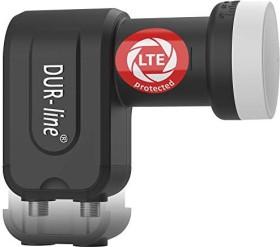 Dura-Sat Dur-line Ultra Twin LNB schwarz/weiß (11091)