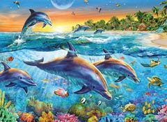 Ravensburger Puzzle Bucht der Delfine (14210)